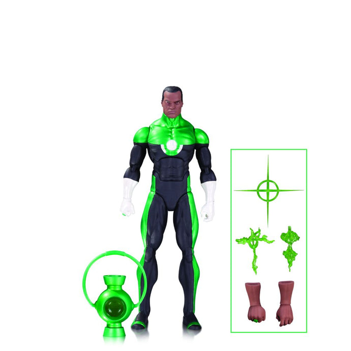 DC Icons Green Lantern (John Stewart) Mosaic Action Figure