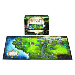 The Hobbit Motion Picture Trilogy Middle-earth Puzzle by 4D Cityscape