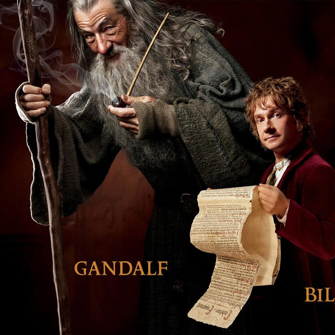 The Hobbit: An Unexpected Journey Character Panoramic Poster