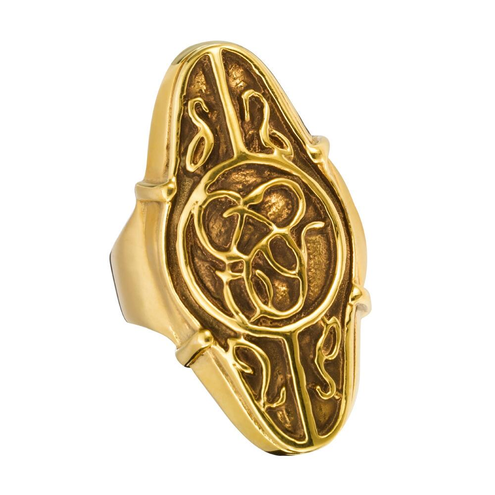 The Hobbit: An Unexpected Journey Elrond's Gold Council Ring by The Noble Collection