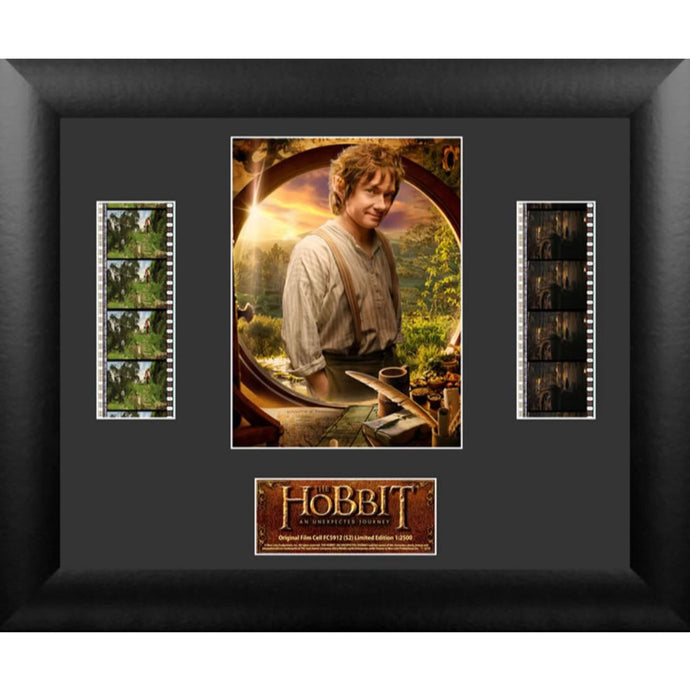 The Hobbit: An Unexpected Journey Bilbo Baggins Double Film Strip Montage