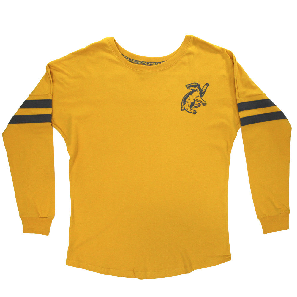 Harry Potter Hufflepuff Juniors Long-Sleeve T-shirt