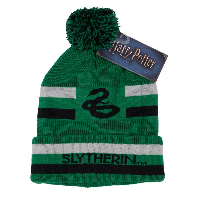 Harry Potter Slytherin Striped Beanie