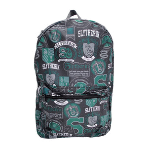 Harry Potter Slytherin Emblems & Mottos Backpack