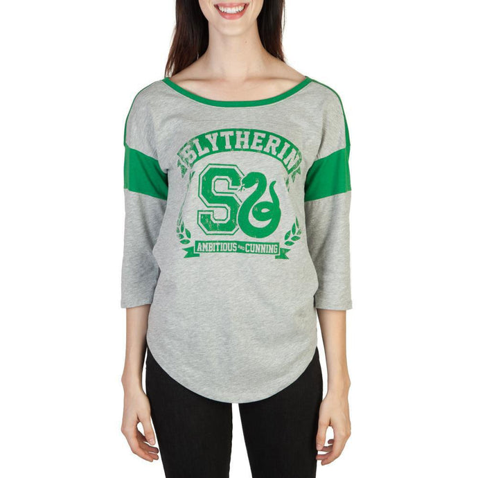 Slytherin Raglan Juniors T-Shirt