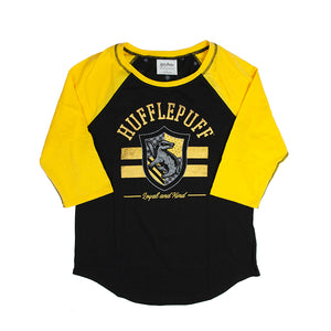 Harry Potter Hufflepuff Juniors Raglan T-shirt