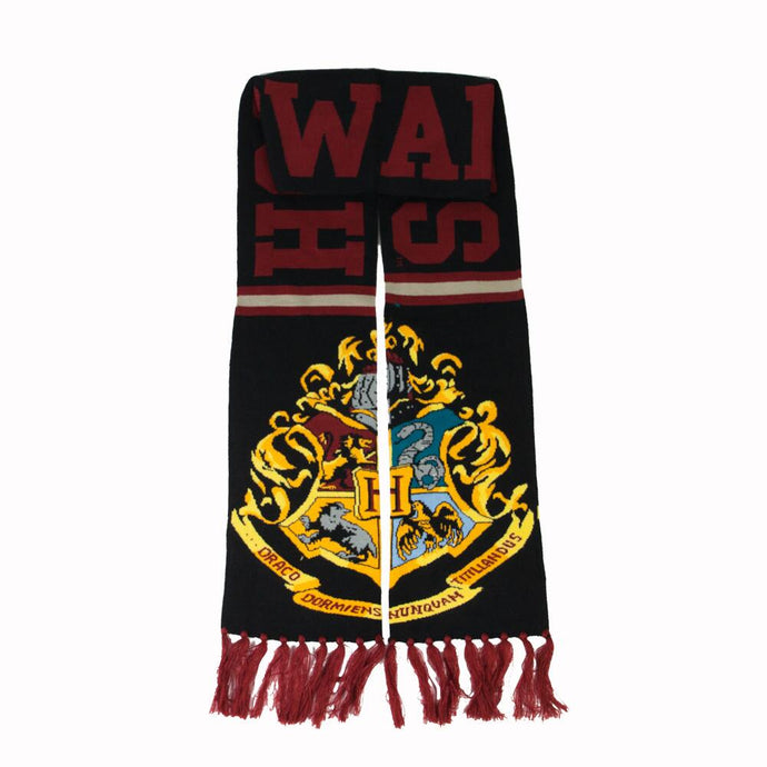 Harry Potter Hogwarts Jacquard Knit Scarf