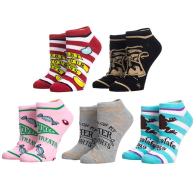 Harry Potter Honeydukes Juniors Ankle Socks 5-Pack