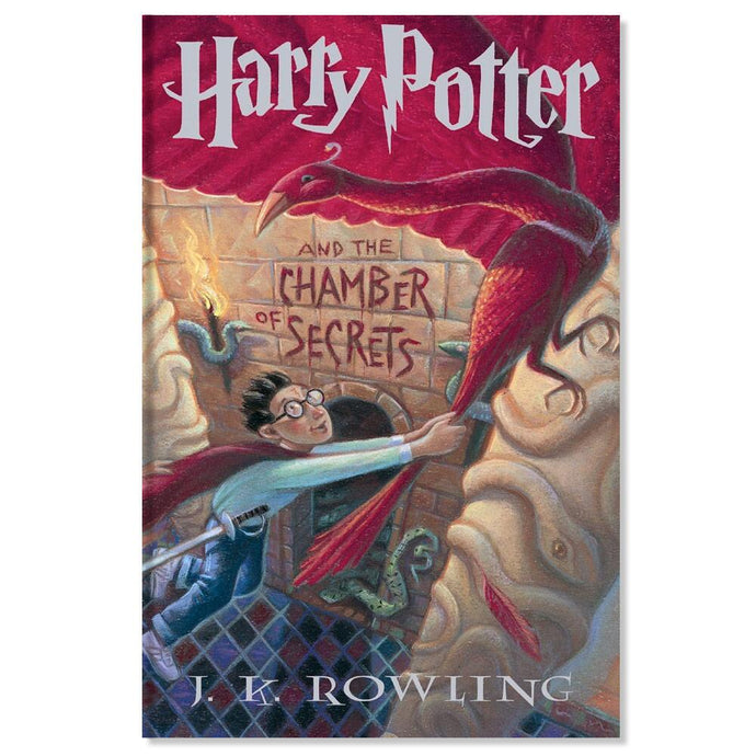 Harry Potter and the Chamber of Secrets Hard Cover (Book #2)
