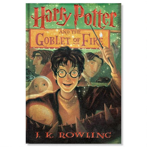 Harry Potter and the Goblet of Fire Hard Cover (Book #4)