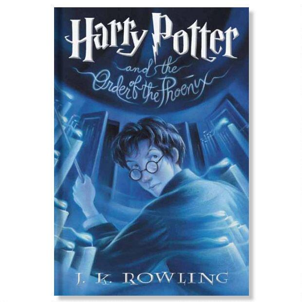 Harry Potter and the Order of the Phoenix Hard Cover (Book #5)