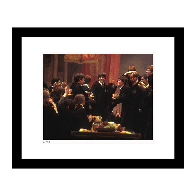 Harry Potter Gryffindor Celebrates Framed Print From Harry Potter and the Sorcerer's Stone
