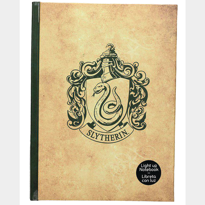 Harry Potter Slytherin Light Up Notebook