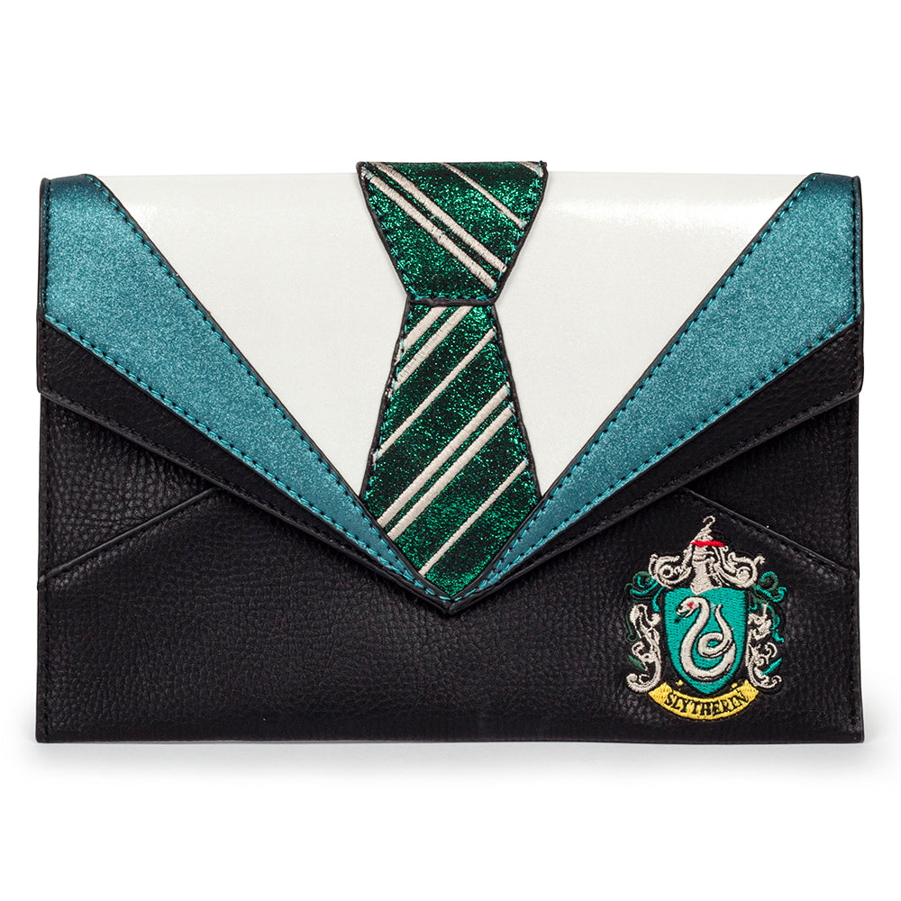 Harry Potter Slytherin Uniform Clutch by Danielle Nicole
