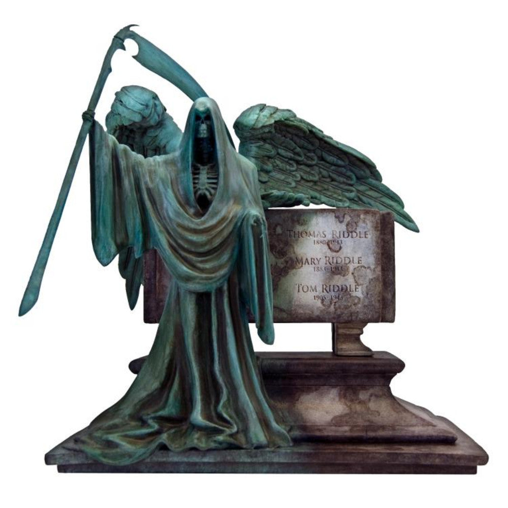 Harry Potter Riddle Family Grave Monolith Statue
