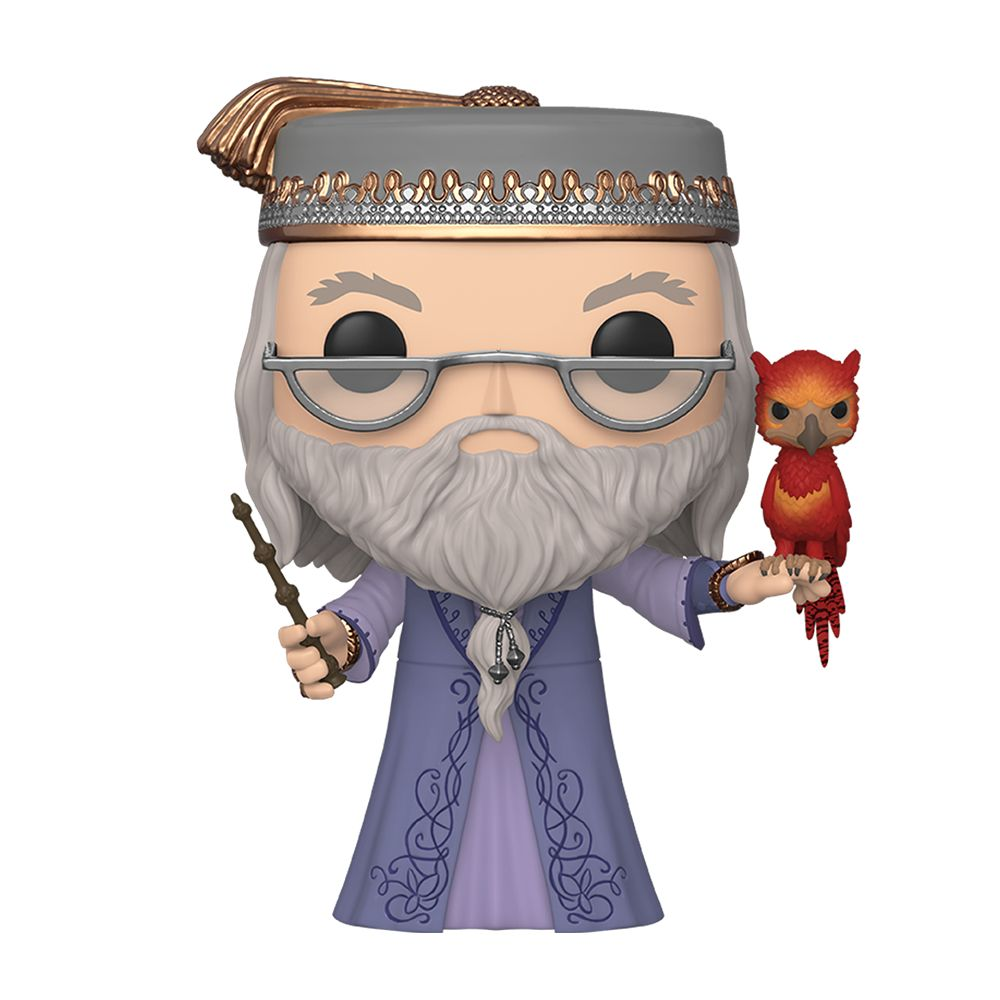 Albus Dumbledore with Fawkes 10