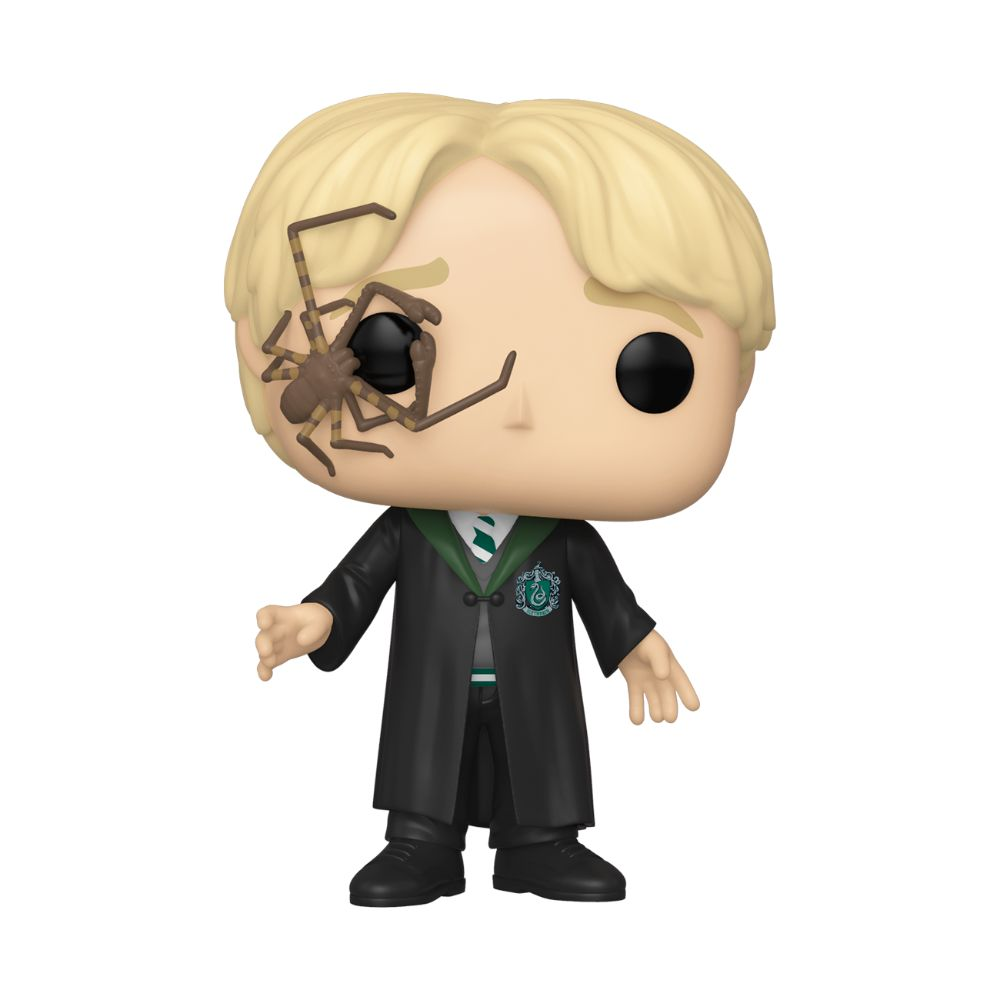 Draco Malfoy with Whip Spider Funko Pop! Movies Vinyl Figure from Harry Potter