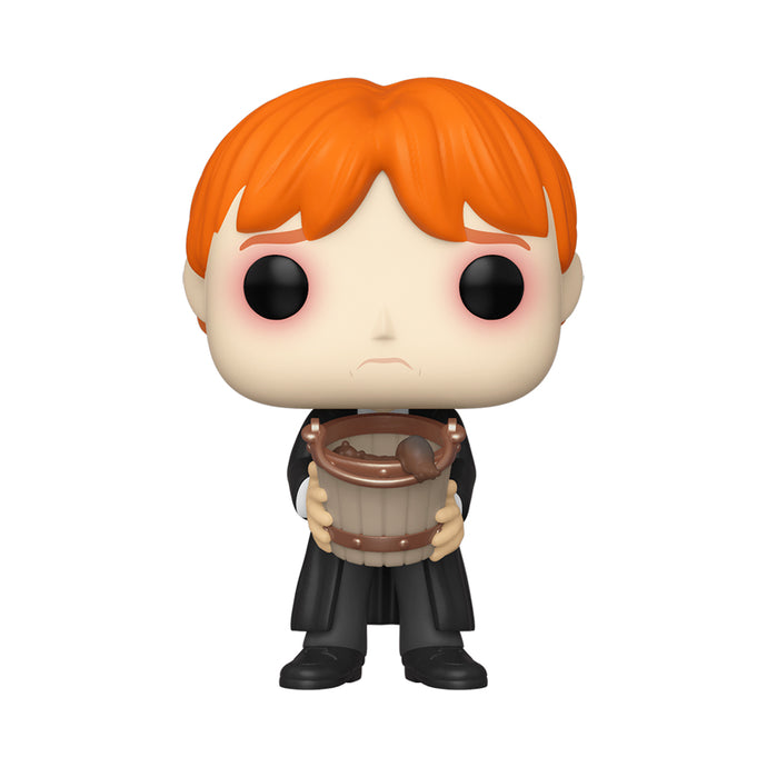 Ron Puking Slugs with Bucket Funko Pop! Movies Figure from Harry Potter
