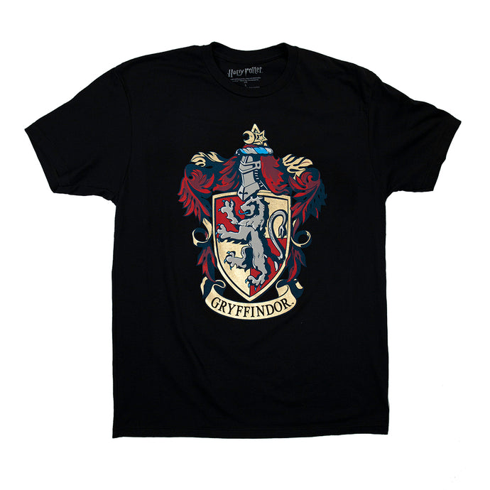 Harry Potter Gryffindor Crest Tee with Foil Printing