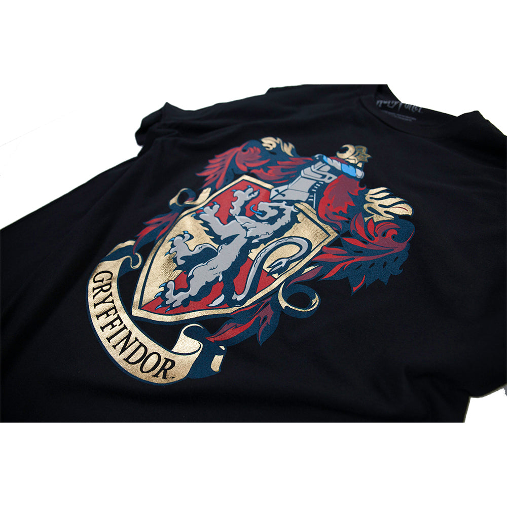 966a8662 Additional image of Harry Potter Gryffindor Crest Tee with Foil Printing