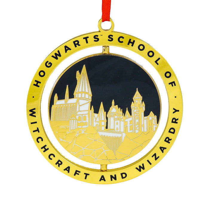 Hogwarts School of Witchcraft and Wizardry Enamel Ornament