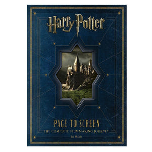 Harry Potter: Page to Screen The Complete Filmaking Journey Hardcover Book