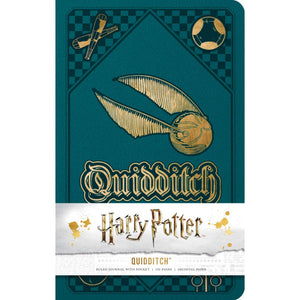 Harry Potter Quidditch Hardcover Ruled Journal