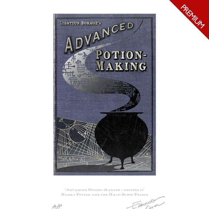 Advanced Potion-Making Edition II Art Premium Limited Edition Print by MinaLima
