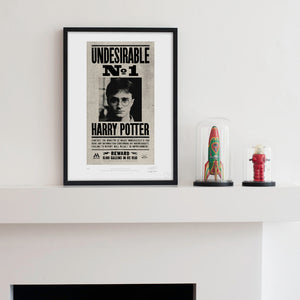 Additional image of Undesirable No. 1 Art Premium Limited Edition Print by MinaLima
