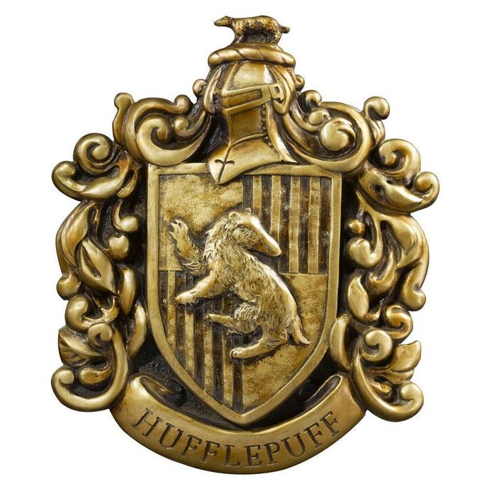 Hufflepuff House Crest Wall Art by Noble Collection