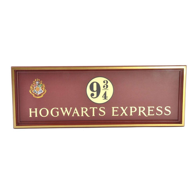 Hogwarts 9 3/4 Sign by The Noble Collection