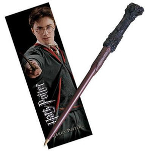 Harry Wand Pen & Bookmark Set by Noble Collection