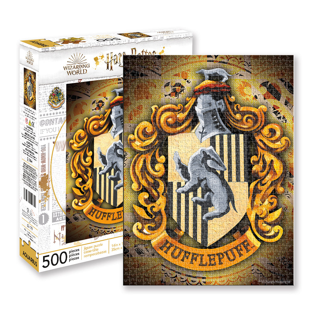 Hufflepuff Crest 500 piece Puzzle from Harry Potter