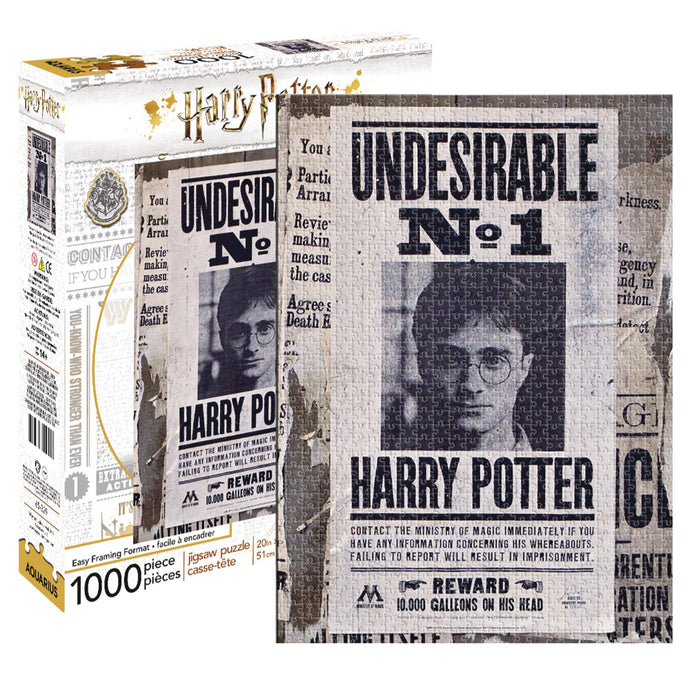 Harry Potter Undesirable No. 1 1,000 Piece Puzzle