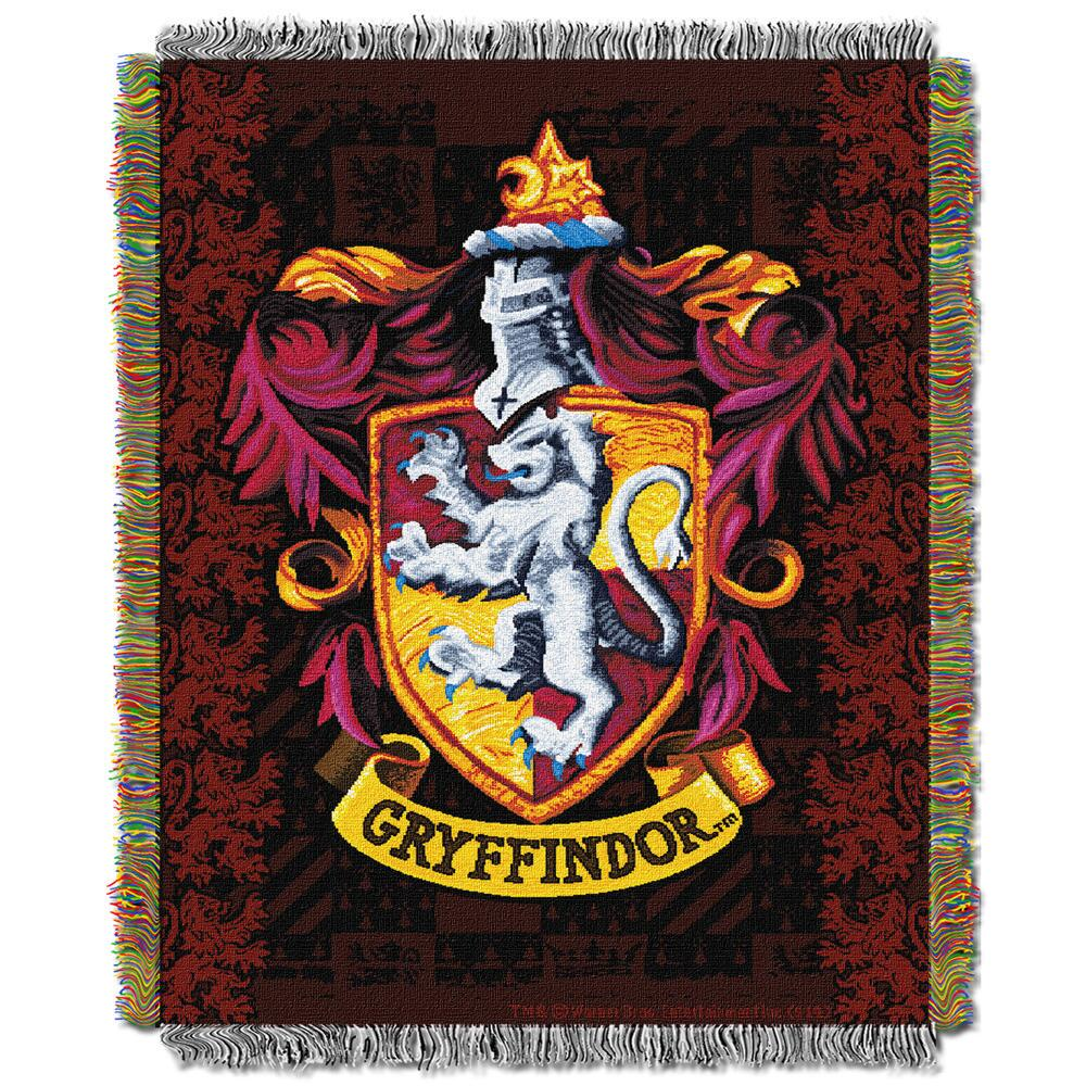 Exclusive Gryffindor Crest Tapestry Throw