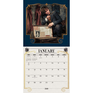 Additional image of Fantastic Beasts: The Crimes of Grindelwald 2019 Calendar