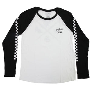 Harry Potter x Vans Hogwarts Women's Raglan T-shirt