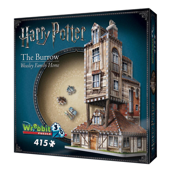 The Burrow Weasley Family Home 415 Piece 3D Puzzle
