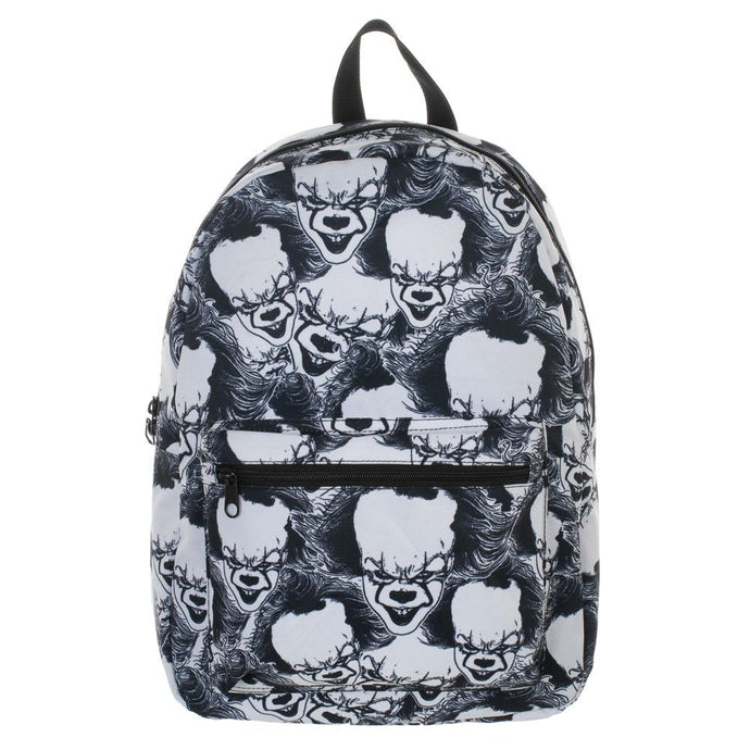 IT Movie Pennywise Allover Print Backpack