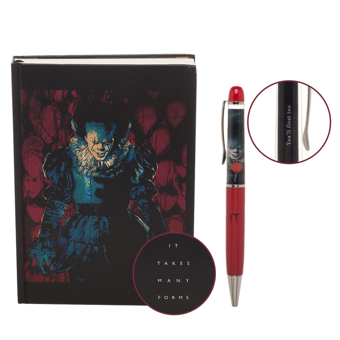 IT (2017) Pennywise Journal & Pen Set
