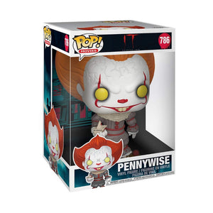 "Additional image of Pennywise with SS Georgie 10"" Funko Pop! Movies Vinyl Figure from IT Chapter Two"
