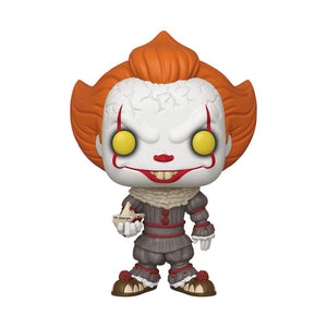 "Pennywise with SS Georgie 10"" Funko Pop! Movies Vinyl Figure from IT Chapter Two"