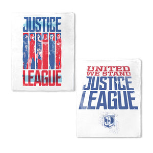 Justice League Movie United We Stand Fleece Blanket