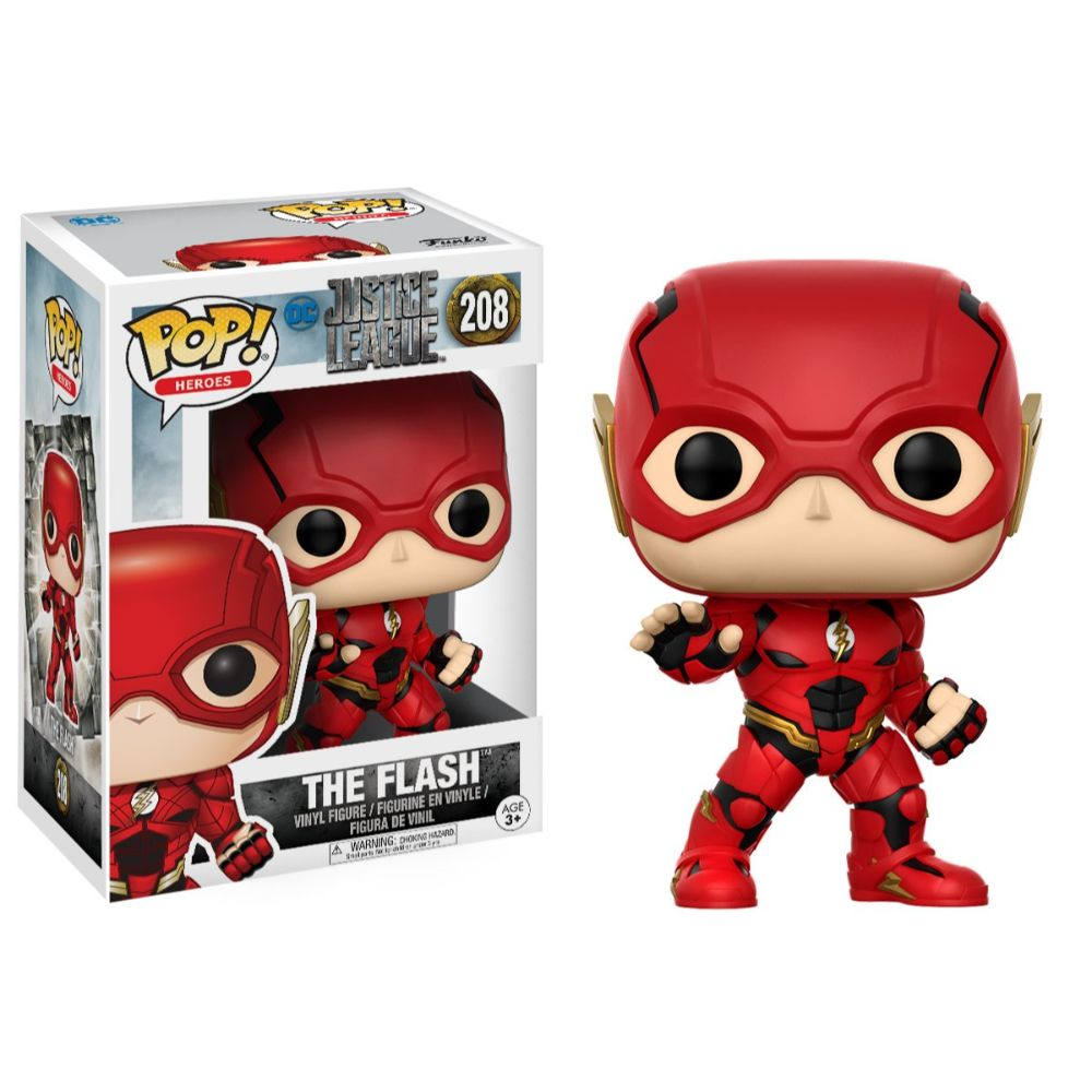 Justice League Movie The Flash Funko Pop! Vinyl Figure