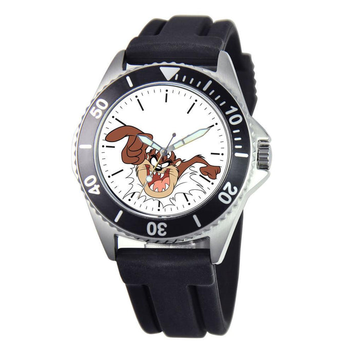 Looney Tunes Tasmanian Devil Rotating Bezel Watch