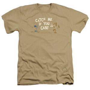Looney Tunes Catch Me Heather T-shirt