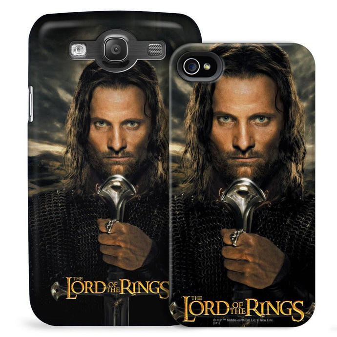 The Lord of the Rings Aragorn Phone Case for iPhone and Galaxy, Style 1