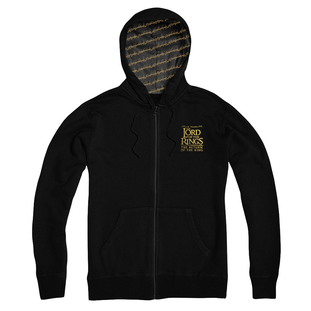 The Lord of the Rings: The Return of the King 15th Anniversary Zip Hoodie