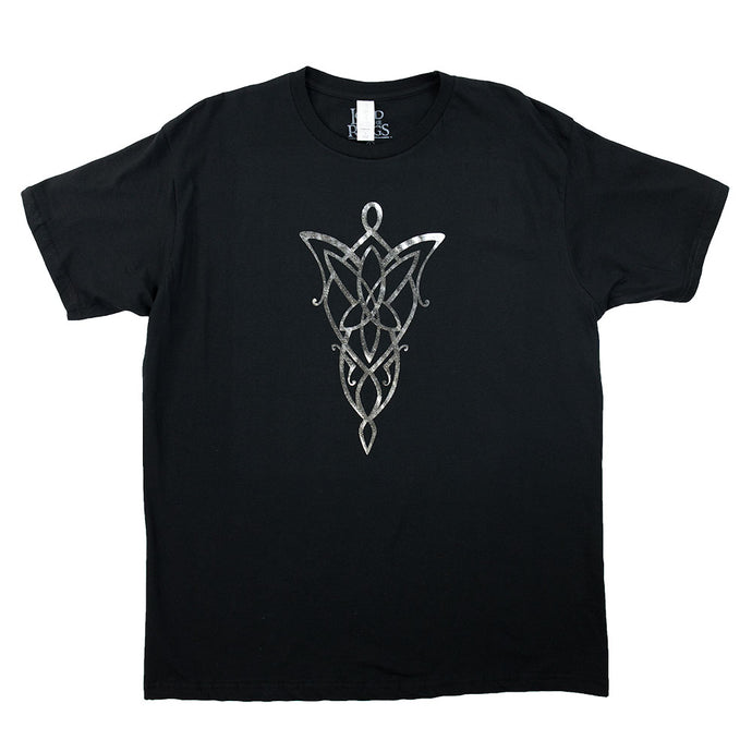 The Lord of the Rings Evenstar Silver Foil Exclusive T-shirt