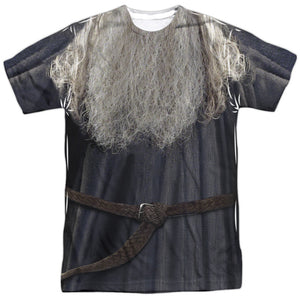 The Lord of The Rings Gandalf The Grey Costume Sublimated Adult T-Shirt